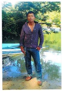 Juan Carlos Gómez Silvano, a regional coordinator of the Sixth in Chilón, executed with more than 20 gunshots last March 21 on the road to his community, Virgen de Dolores. Photo: provided by the Gómez Silvano family