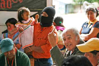 Luis Villoro, 21st June 2009, at the Primer Encuentro Continental Americano Contra la Impunidad, organised by the EZLN
