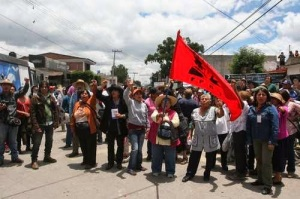 Indigenous Community near Mexico City again Stands Ready to Fight for its Land