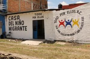 "Migrant home ""All for All"" in Tapachula (@Centro PRODH)"