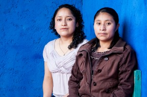 Susana Patricia Lopez, left, says her Tzotzil her family generally supports her goal of becoming a nurse while fellow student Maria Luna says her Tzeltal farmer parents would rather she become a wife and mother.