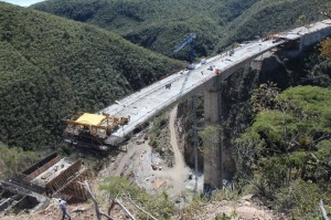 The Chiapas government reported that the road from Palenque to San Cristóbal would be 160 kilometres long.