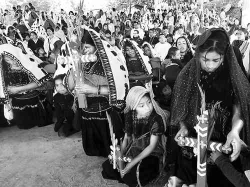 Survivors of the Acteal Massacre (1997), during a mass celebrated in December 2010 to remember the victims. Photo: Moysés Zúñiga Santiago