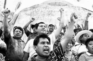 For over 11 years the Council of Ejidos and Communities opposed to the La Parota dam have been in struggle to defend their territory, culture and identity. Photo Javier Verdin.