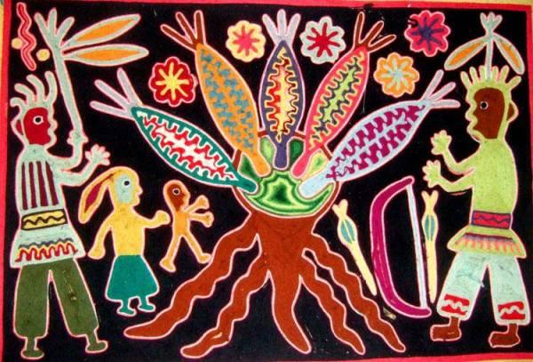 Madre de Maiz Huichol