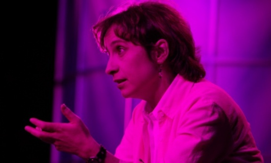 Campaigning journalist Carmen Aristegui. Photograph: Gregory Bull/Associated Press