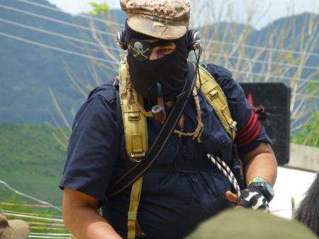 Subcomandante Insurgente Galeano. Photo @ SIPAZ archive