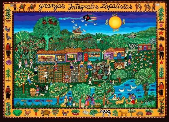 Granjas integrales zapatistas, Beatriz Aurora, 1997.