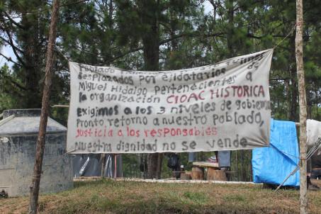 Temporary camp, Photo@Sipaz