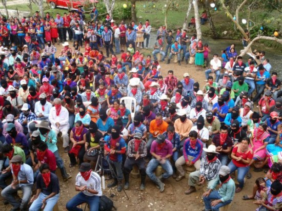 The colours of Zapatismo