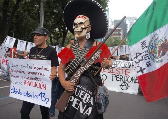 People around the world have been demanding action from the Mexican authorities © Amnesty International (Photo: Josefina Salomon)