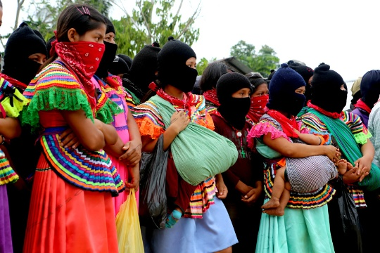 Zapatista youth and women form much of the current support base of the rebel organization. Photo: Tim Russo/Upside Down World