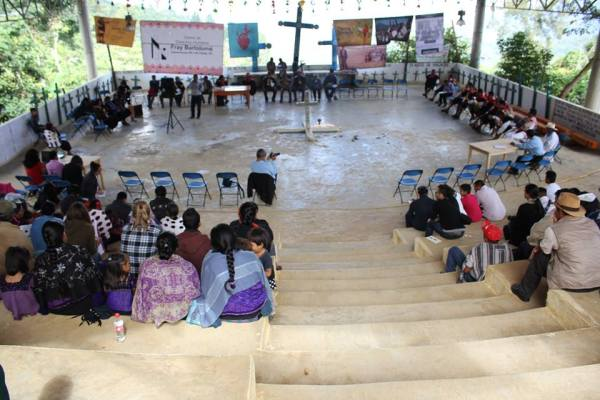 "Forum ""The Other Justice"" in Acteal, Chenalhó, Chiapas @LasAbejasdeActeal"
