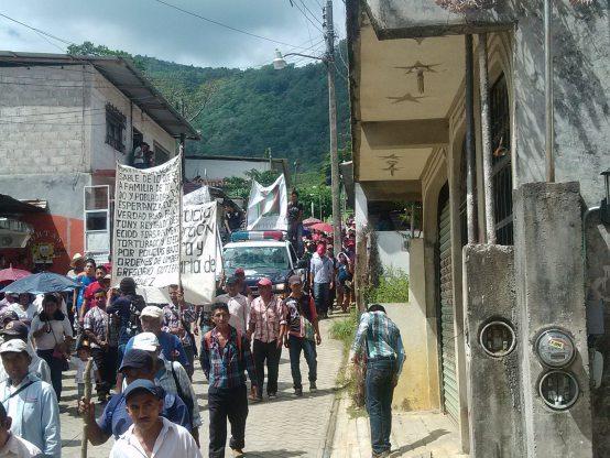 Mobilization by civil society for case of Tony Gutiérrez. Photo @Comité Digna Ochoa