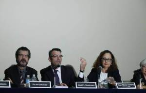 Members of the Inter-American Commission on Human Rights give a report on their 5-day visit.