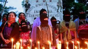 Zapatistas for Ayotzinapa @ Koman Ilel
