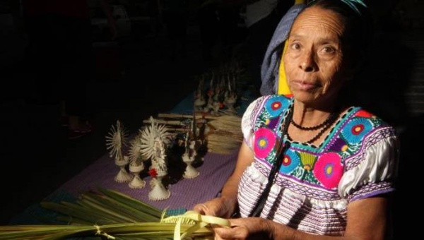 """Discrimination and racism permeate the state, institutions and society, when native people are perceived as needy, lacking, impotent,"" said Leticia Aparicio Soriano. 