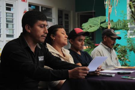 Press conference @ChiapasDenunciaPública