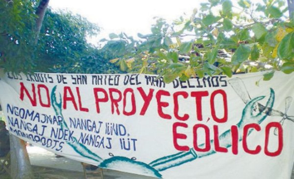 Community Protest Banner: