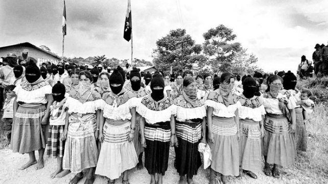 Resultado de imagen para zapatistas